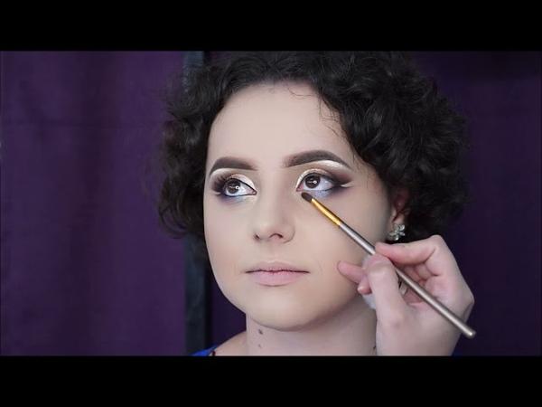Eyeliner Gel Pencil Technique Makeup