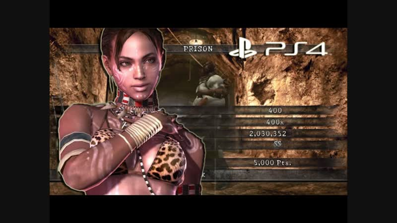 NO MERCY Prison 2,030,353 Full Combo Sheva Tribal - Resident Evil 5 PS4 Mercenaries United