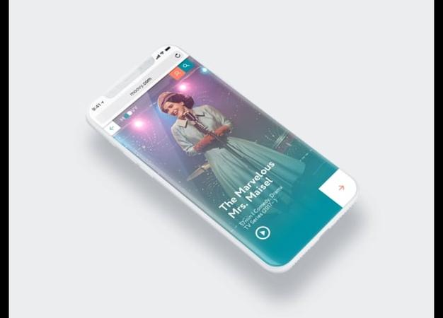 Moovy cinema-app. Prototype