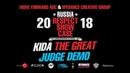 KIDA THE GREAT | JUDGE DEMO | RUSSIA RESPECT SHOWCASE 2018 [OFFICIAL 4K] | Danceprojectfo