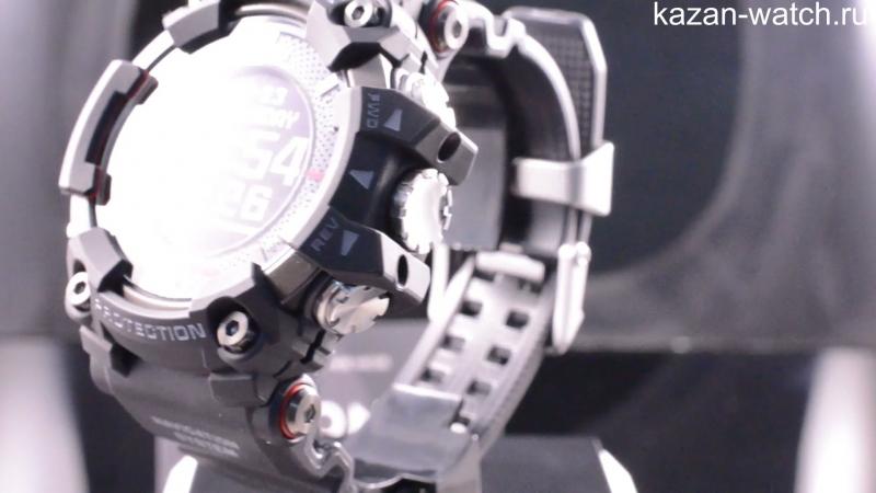 Видео обзор японских часов Casio G-Shock Rangeman GPR-B1000-1E