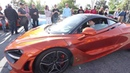 Deadmau5 drives his new Mclaren 720S at Sunset GT Meet