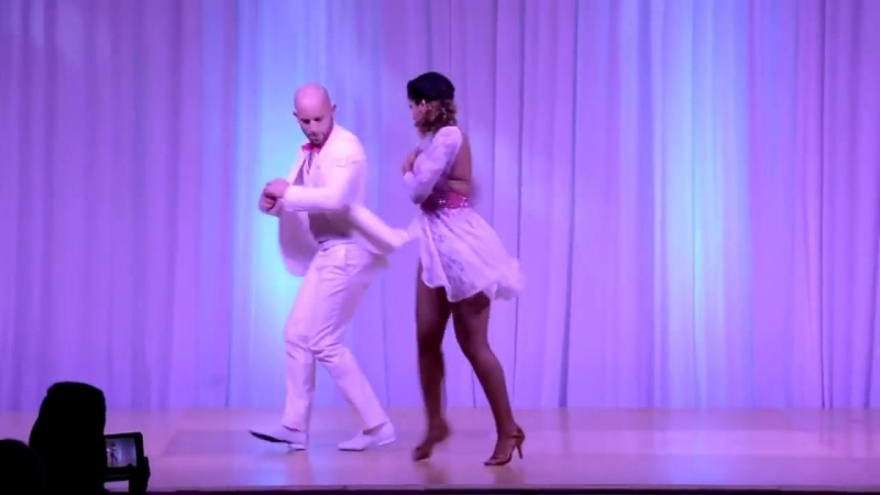 Жорж Атака и Таня Ла Алемана танцуют под... Короче это - ПОТРЯСЕНИЕ!