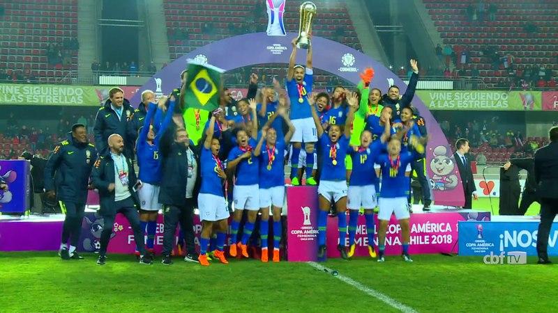 Seleção Brasileira Feminina: Brasil é heptacampeão da Copa América
