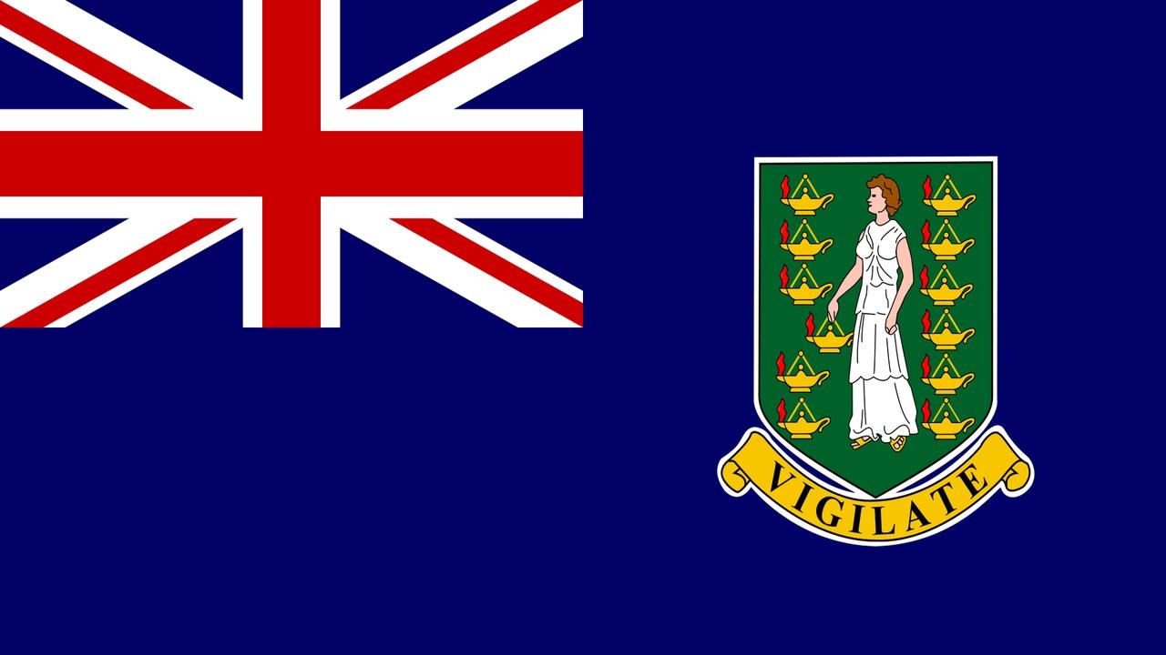 Флаг Британские Виргинские Острова