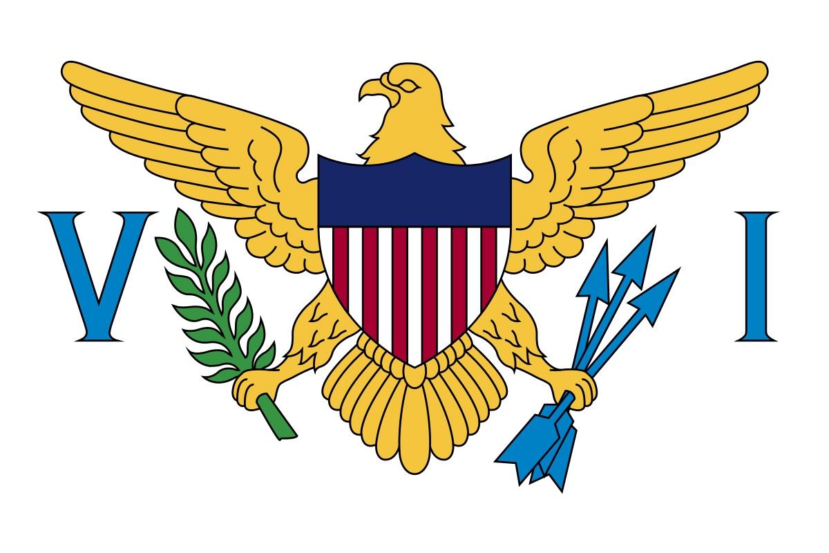Флаг Американские Виргинские Острова