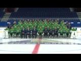 Фотографирование команды перед новым сезоном КХЛ