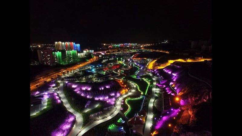 Şehrin Işıkları 4K Kalitesinde - A Million Lights in 4K quality.