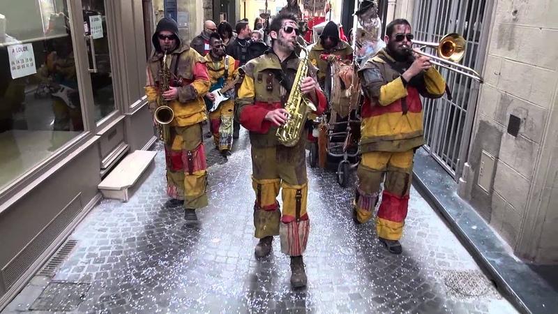 La Fanfare des Goulamask - Carnaval Centre Ville de Béziers