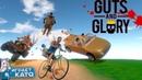 Guts and Glory - Happy Wheels 3D ► Взрыв мозга