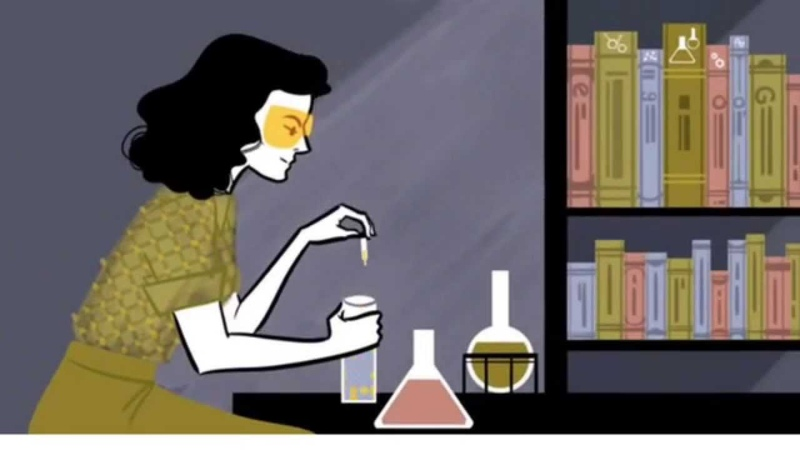Google Doodle Hedy Lamarr's 101st Birthday - Animation Video