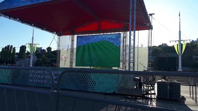 Единственный гол. Мексика-Германия.1-0. 17.06.18.