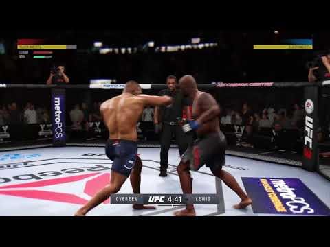 JFL 12 HEAVYWEIGHT Derrick Lewis Ivantaran307 vs Alistair Overeem Frost88_rus