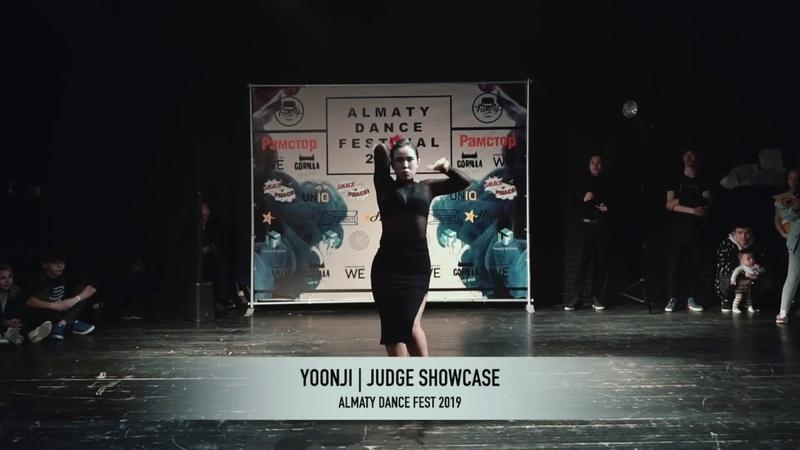 YOONJI WAACKING JUDGE SHOWCASE ALMATY DANCE FEST 2019