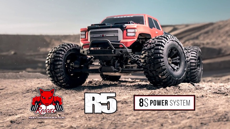 Redcat Racing - Rampage R5 - 1/5 Large Scale Monster Truck - 8S Power System - Brushless