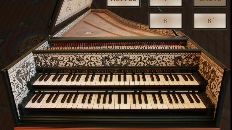 Johann Sebastian Bach Prelude and Fugue in F-sharp minor, BWV 883 (Evgeniy E. Moshkin, harpsichord)