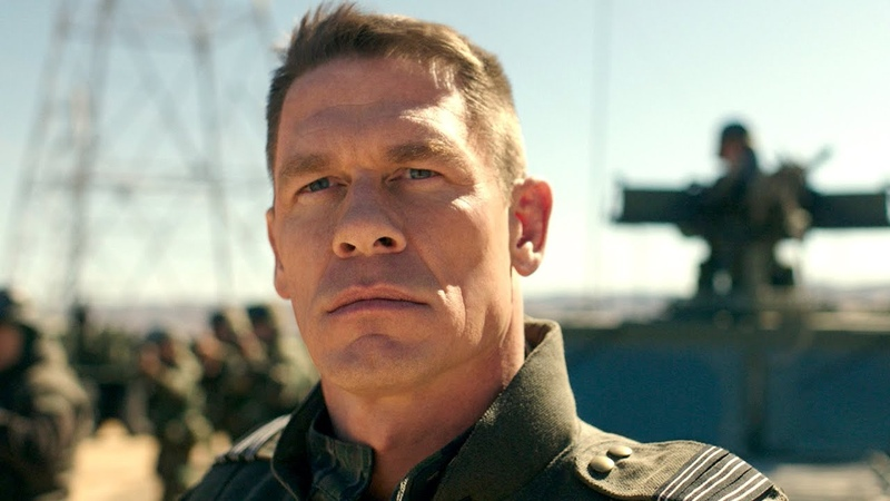 Exclusive first look at John Cena's new movie, Bumblebee