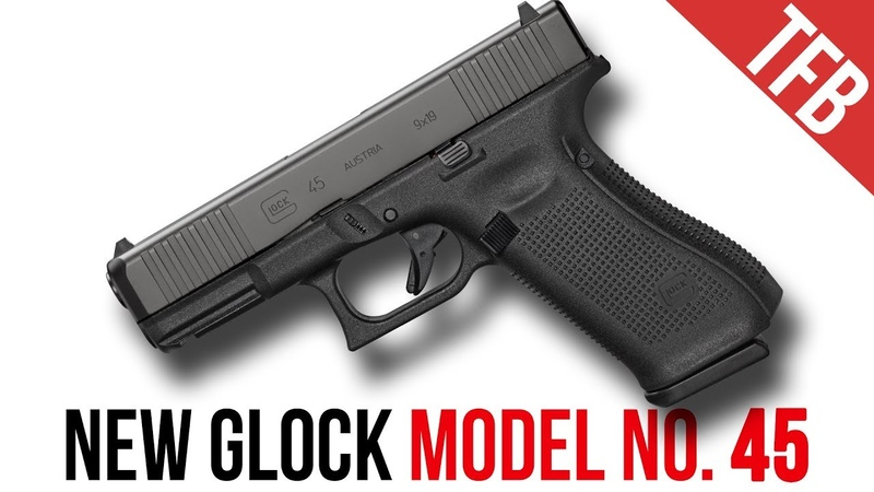 NEW Glock Mod. 45! (No, Its Not Just a Black 19X)