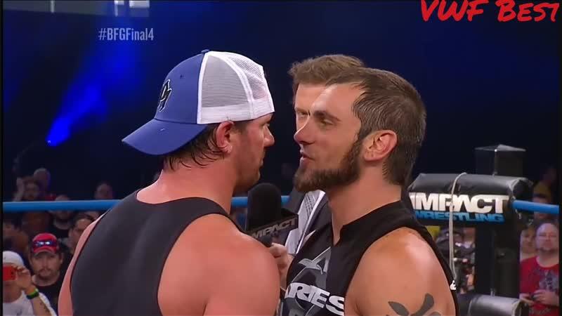 |VWF™| - Promo/Rolic AJ Styles©(Intercontinental Champion) vs Austin Aries©(NXT Champion) - Wrestlemania 8