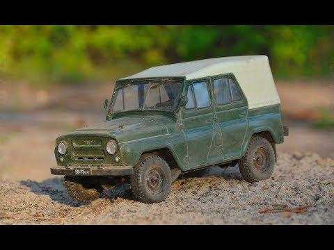 УАЗ 469Б 1:24 Hachette Легендарные советские автомобили №16