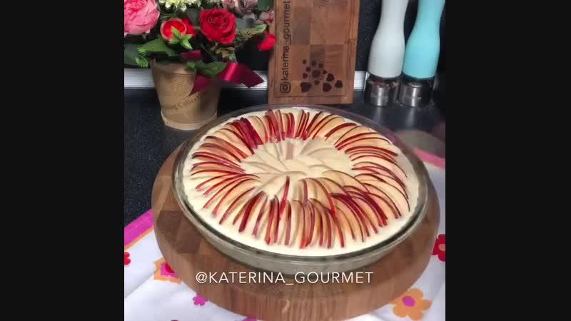 Пирог Неженка с яблоками ингредиенты в описании видео gbhju yt tyrf c z kjrfvb byuhtlbtyns d jgbcfybb dbltj