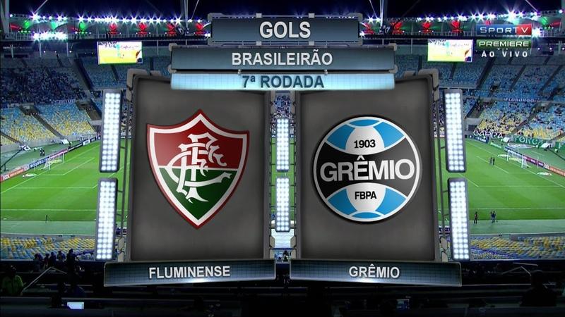 Gols, Fluminense 0 x 2 Grêmio - Brasileirão 15/06/2017