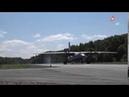 Первая в новой истории России посадка Ан 26 на автотрассу