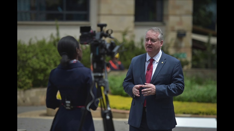 BBC INTERVIEW: INTERPOL's Tim Morris, Executive Director of Police Services