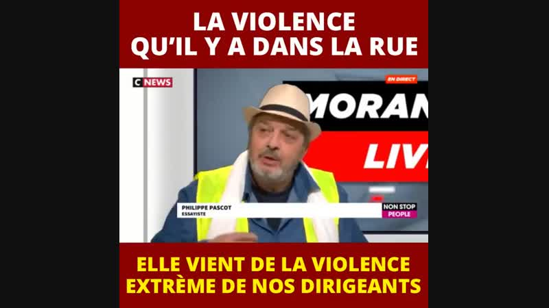 Philippe Pascot sur CNews