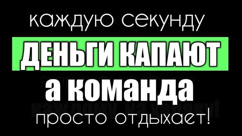 ДЕНЬГИ КАПАЮТ КАЖДУЮ СЕКУНДУ А ВСЯ КОМАНДА ОТДЫХАЕТ! deniko