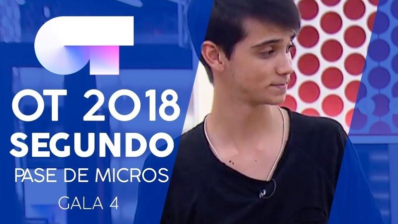 VIVIR JULIA y DAVE Segundo pase de micros Gala 4 OT 2018