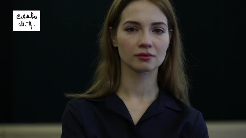 Мария Луговая читает стихотворение - << Соперница, а я к тебе приду ... Марина Цветаева.