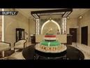 В Чечне Мохаммеду Салаху подарили на день рождения 100 килограммовый торт