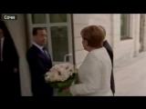 Ангела Меркель приехала в резиденцию Путина