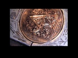 Hand engraving William Morris Intial A