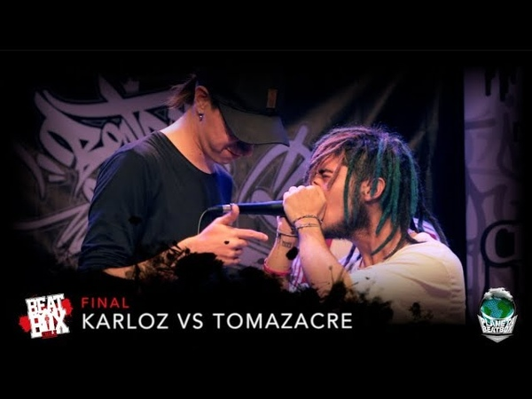 Karloz vs Tomazacre | Final | Campeonato Nacional Beatbox Chile 2018.
