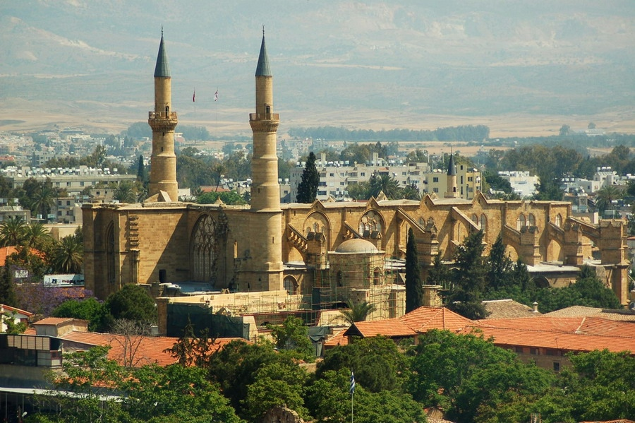 lwSK8xVgPII Никосия (Лефкосия) столица Кипра.