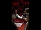 Millie Bobby Brown and Noah Schnapp dancing at the party