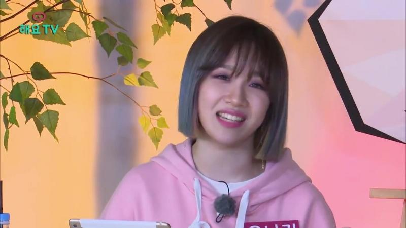 Euna performing minjus part