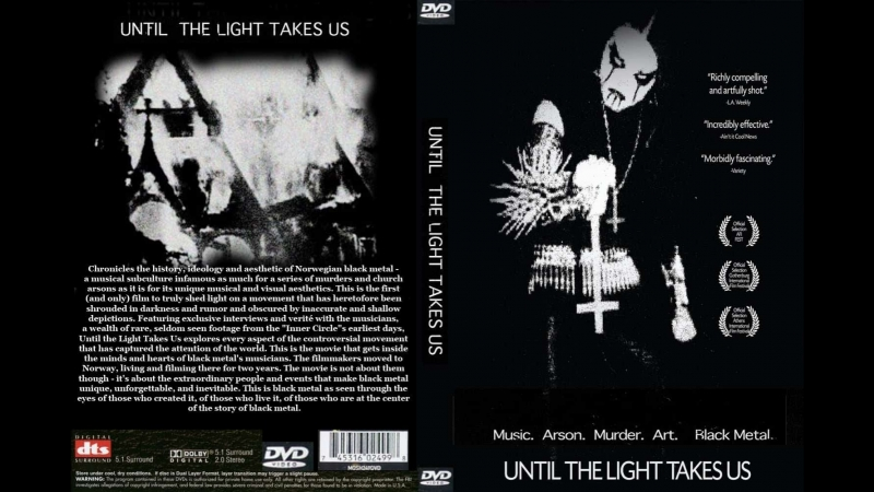 Пока свет не заберёт нас. Until The Light Takes Us 2009. История Black metal