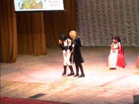 Тогучи 2012 Сценка №2 Pandora Hearts Давай поженимся Taisen