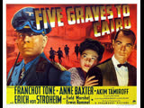 Five Graves to Cairo (1943) Franchot Tone, Anne Baxter, Akim Tamiroff