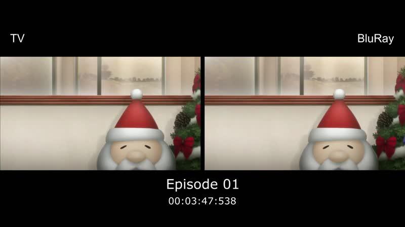 STEINS GATE 0 TV vs BD Vol.1-4 (fixed)