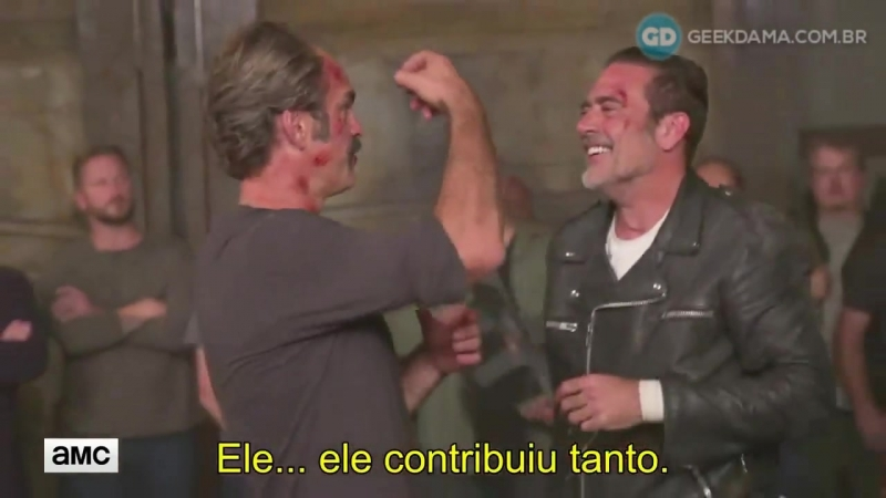 ↳ Por trás das câmeras de The Walking Dead (Episódio Worth | SO8E15) ― JHBR