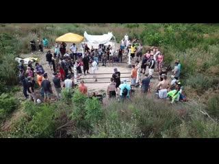 Streetbeefs wolfman vs abuelo drone footage