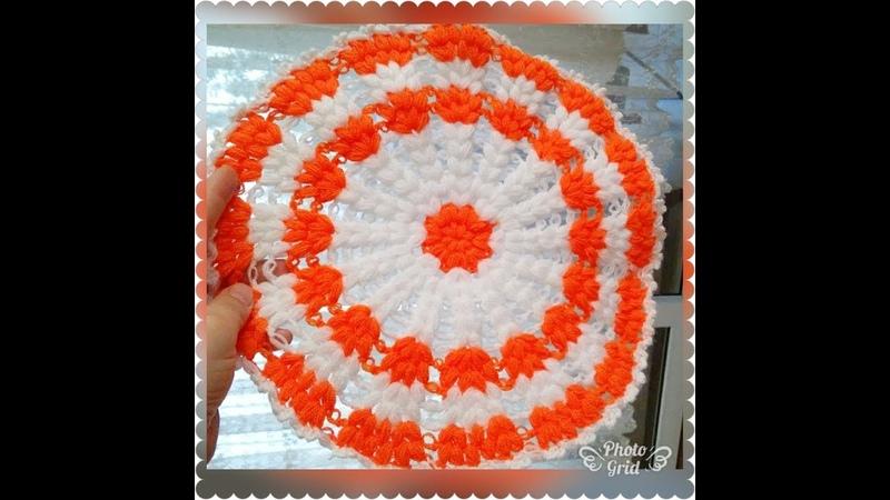 En kolay lif modeli | bir solukda biten çeyizlik lif örneği | how to knitting crochet
