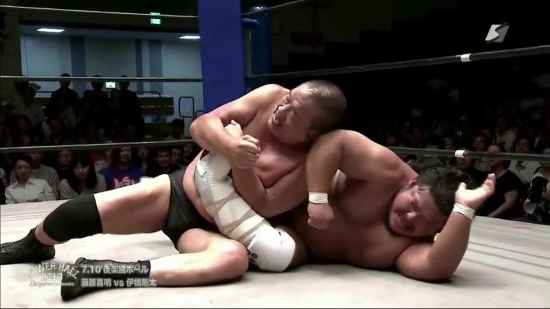 Gota Ihashi vs. Yoshiaki Fujiwara (Riki Choshu Produce - Power Hall 2018 ~ Battle of Another Dimension)