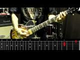 Sasha Rock'n'Roll guitar lessons Nirvana - Tourette's видео урок №25 tutorial