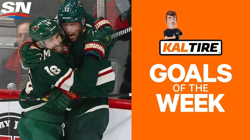 NHL Goals of The Week Week 2 Edition