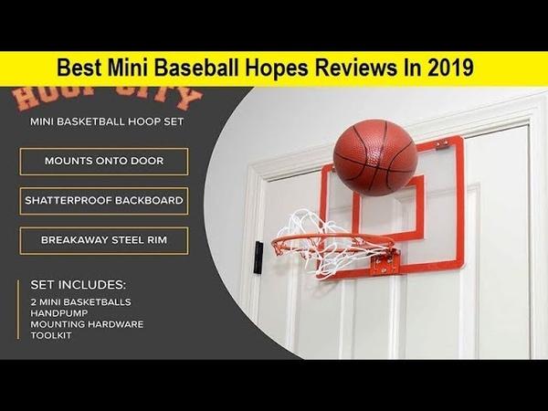 Top 3 Best Mini Baseball Hopes Reviews In 2019